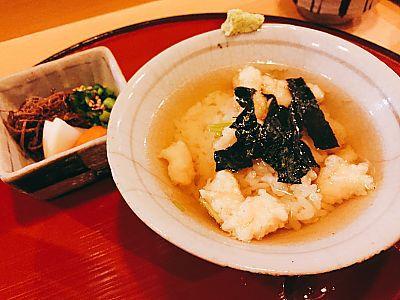 天ぷらいわ井で天ぷらランチ(豊田市駅前)