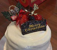 Merry Christmas!! 名古屋コーチン寄せ鍋とブールブールのクリスマスケーキで♪