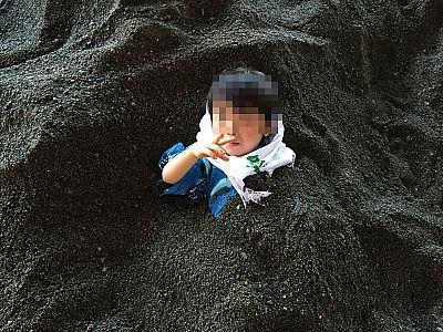 九州旅行2日目③砂むし温泉「砂楽」(さらく) 指宿温泉