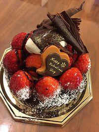 バレンタインはブールブールのチョコといちごのタルト&抹茶生チョコだよ♥