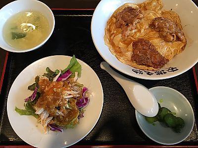 北京本店で北京飯&天津飯 ランチ(安城市)