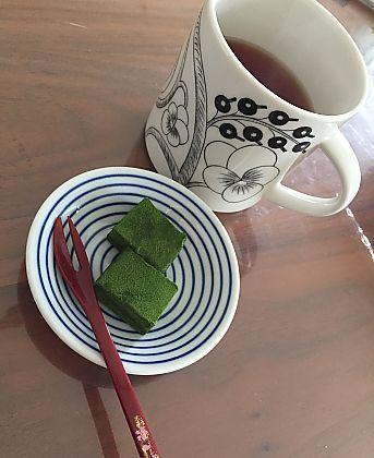 ブールブールさんの抹茶生チョコでほっこりティータイム(豊田市)