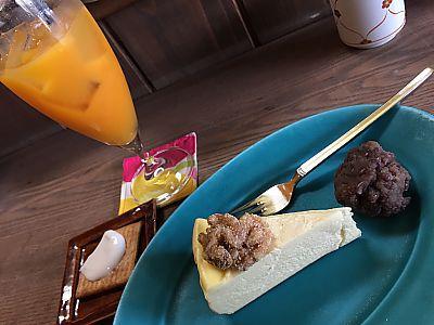 喫茶ゆらりで息抜き チーズケーキ美味し!(豊田市桜町)MAMATOCO