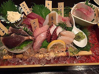 きらりで夕食(豊田市駅前)