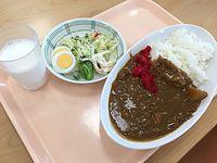 広島旅行2日目 ③呉市役所食堂で潜水艦「うんりゅう」カレーランチ