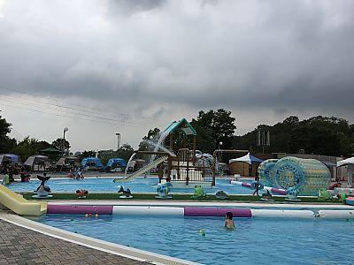 初★フォレスタヒルズのプールに行ってきました(豊田市)