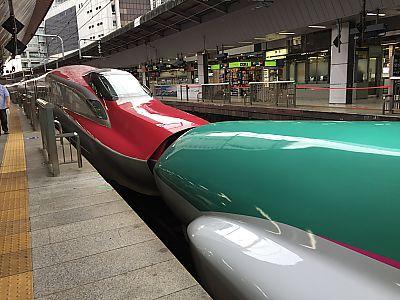 東京駅周辺の新幹線見放題スポット