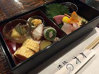 熟成魚が食べられるお店 酒縁青月さんで松花堂ランチ(豊田市美里)