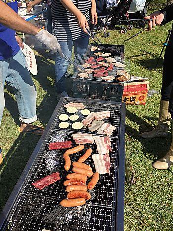 BBQ日和  肉はピカイチで調達!