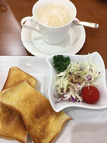 福祉センターのボンズカフェでモーニング(豊田市)