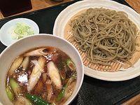 つちやで鴨つけ蕎麦(豊田市)