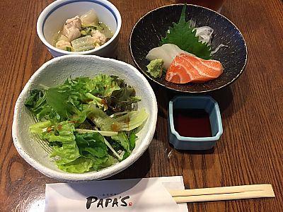 PAPA'S(パパス)でボリューム満点ランチ  豊田市駅前