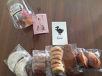 お菓子と喫茶Dodoの焼き菓子たち(豊田市)