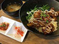 ランパス12②北海道マルシェでザンギ丼(岡崎市)