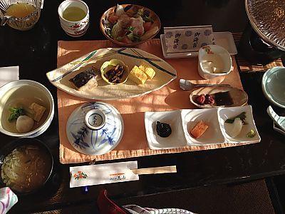 九州旅行 3日目①ゆふいん花由の朝食