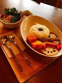 初★いとカフェさんの野菜カレーランチ食べました(豊田市栄町) 子連れに優しい店