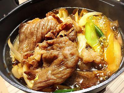 国産黒毛和牛すき焼きランチを食す!!!KiTARA2階 天ぷら 和牛すき焼専門 もりした (豊田市)