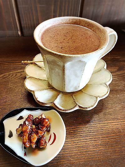 ゆらりさんのココアでほっこり( *´艸`)(豊田市) ママトコの蔵カフェ
