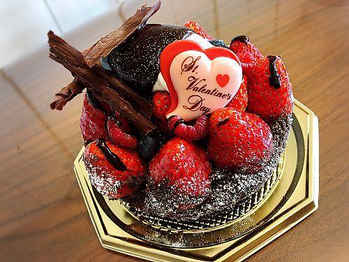 もうすぐバレンタイン!ブールブールのいちごのタルトショコラ    豊田市五ヶ丘