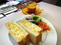 カフェクラシカルさんでトーストサンドセット(豊田市美里) ニューオープン