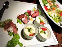 夫婦ふたり旅 東京③庭園Dining せせらぎを聴きながら 品川駅前店で夕食を