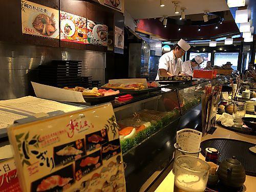 夫婦ふたり旅 東京④築地散策 食べ歩き すしざんまい