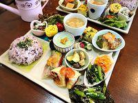 野菜と糀のカフェ このはなさんの野菜もりだくさんランチプレートを食べました!(みよし市)