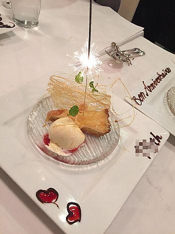 結婚記念日はビストロモコさんでお祝いディナー❤(豊田市) フランス料理