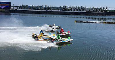 海の日は海へ!知多半島②とこなめボート(常滑競艇場)初体験