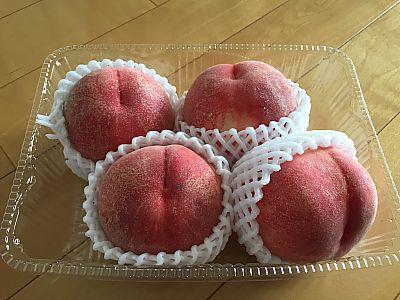 ピカイチで食材ゲット 美味しい刺身 猿投の桃 などなど♪