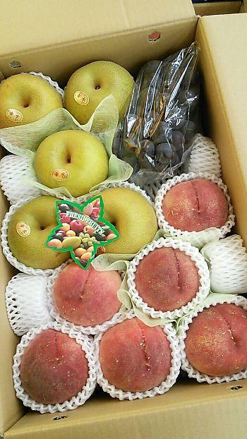 ピカイチで果物セットの贈り物(豊田市) フルーツギフト