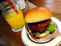ニックストックで肉モーニング♪ ニックハンバーガー   豊田市駅前 キタラ