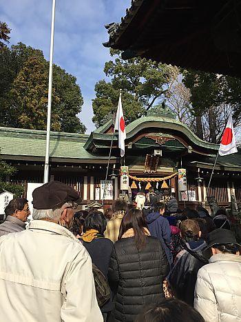 初詣 挙母神社(豊田市)