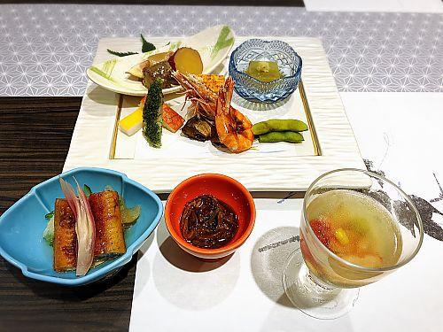 修善寺旅行④〇久(まるきゅう)旅館夕食