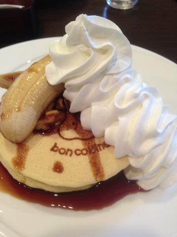 bon colline(岡崎市)のパンケーキ