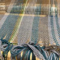 今年1作目のさをり織り