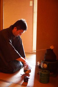 さんじゅ荘の茶室でお茶会とBBQのイベントが行われてました!
