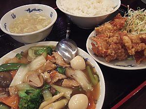 中国料理西街でランチ