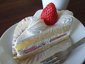 キャッスルのショートケーキ