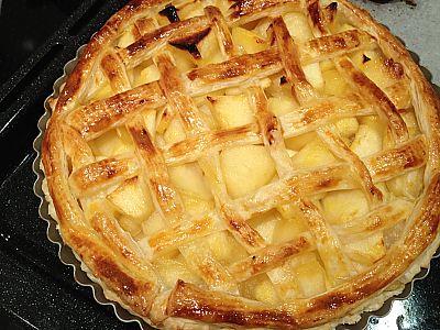 カスタードアップルパイを作ったよ♪