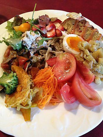 美味しいサラダを食べるなら♪ピアノピアーノ(豊田市大林町)