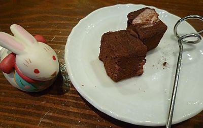 訳あり生チョコレート    楽風