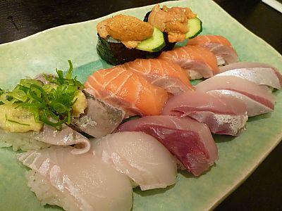 大阪で寿司!すし政中店