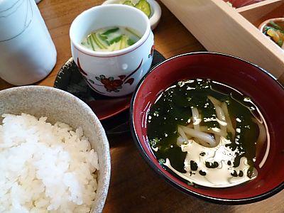 割烹家満兆で和食ランチ(豊田市)