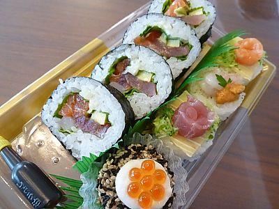 寿司スイーツ♪クリスマスにもオススメ 寿司の花由