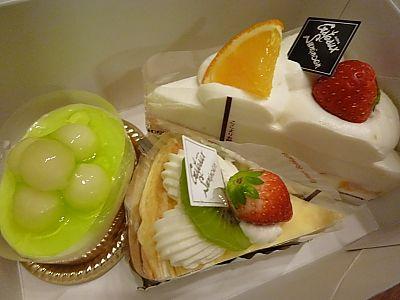 ガトースミノエンのケーキ(豊田市)