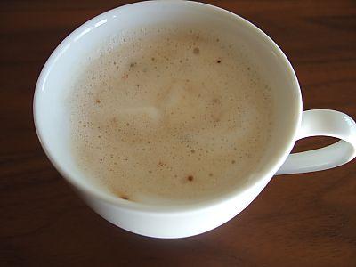 おうちでカフェラテ
