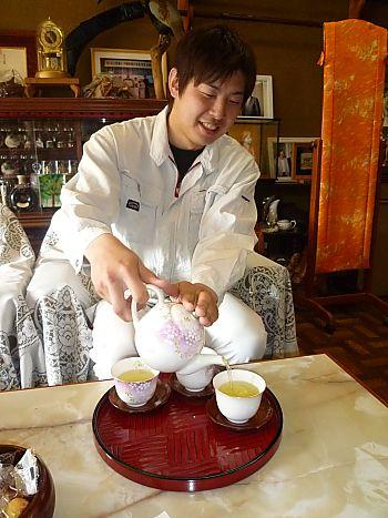 いしかわ製茶さんへGO!夢農人いしかわさん♪(豊田市)