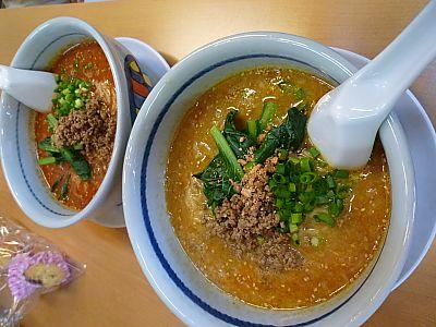 よか晩屋さんで坦々麺(豊田市)