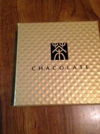 お茶屋さんのチョコレート